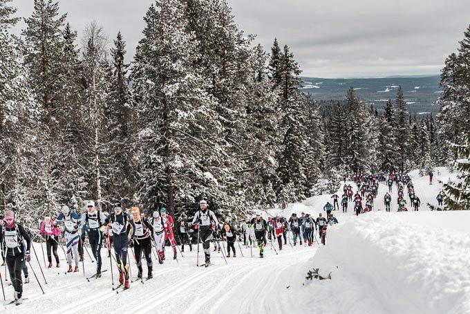 Langlaufveranstaltung Birkebeinerrennet in Norwegen