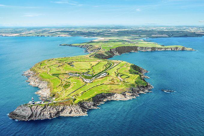 Der spektakuläre Old Head Golfplatz in Irland