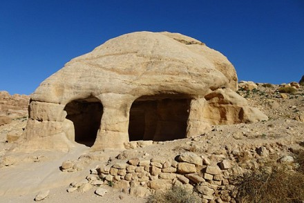 Schlumpfenhaus in Petra