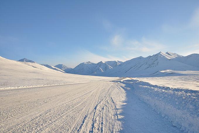 Bilderbuchwinter in Alaska und im Yukon