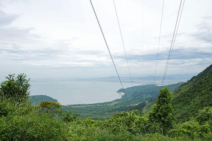 Der Wolkenpass mit Blick auf Danang