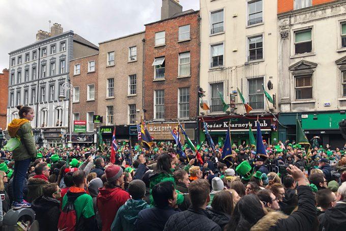 Dublin, St. Patricks Day