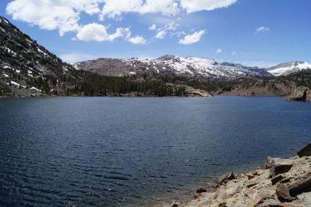 Ellery Lake im Yosemite Nationalpark