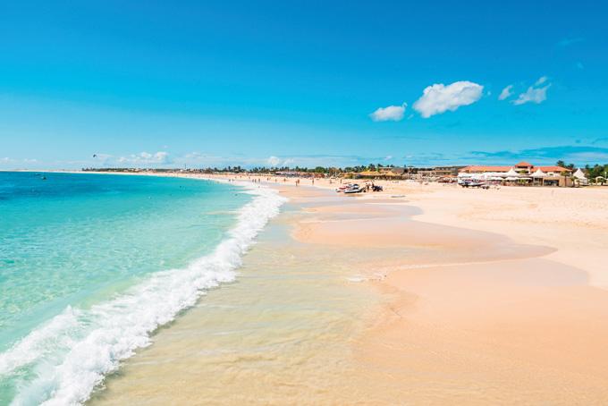 Traumhafte Strände auf Sal und Boa Vista