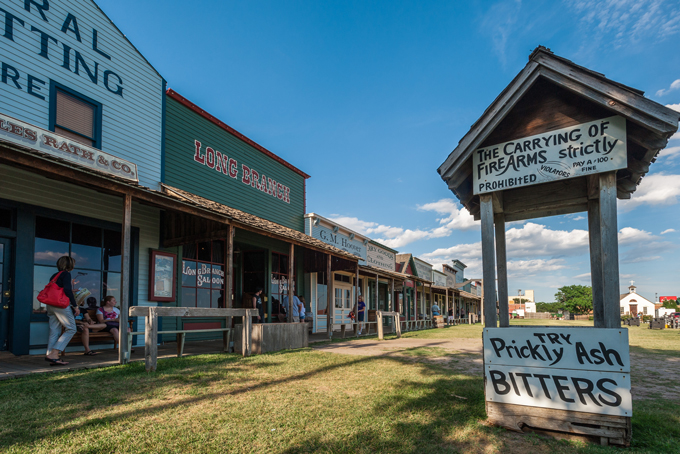 Front Street, Boot Hill Museum, Dodge City, KS