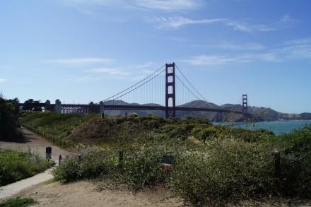 Golden Gate Bridge bei klarem Wetter