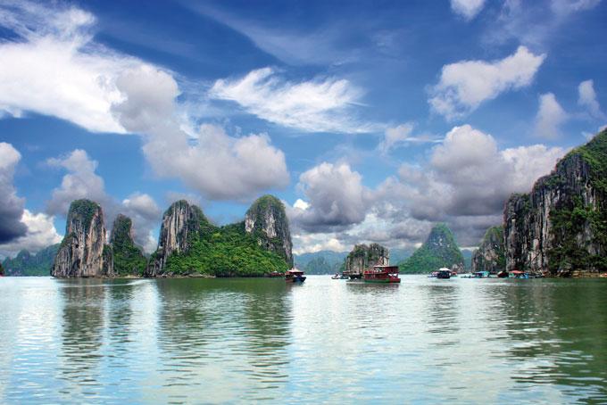 Vietnam, périodes de voyage et points d'orgue