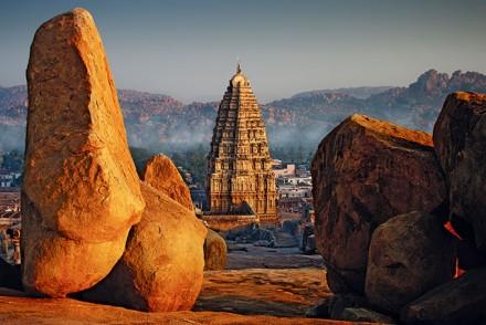Hampi, Karnataka, UNESCO Weltkulturerbe