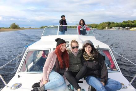 Hausbootferien auf dem Fluss Shannon