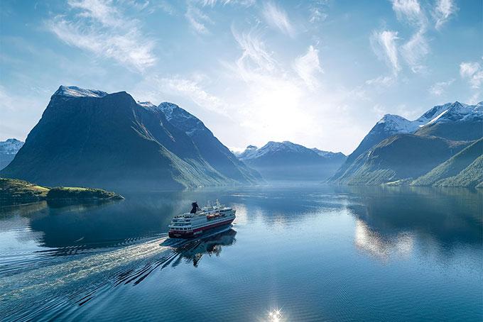 Unterwegs auf der legendären Hurtigruten