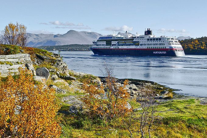 Hurtigruten-Reise im Herbst