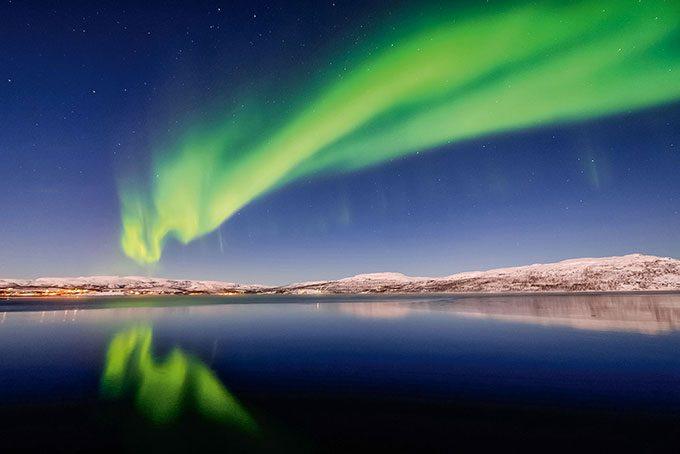 Das mystische Nordlicht