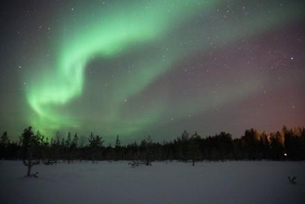 Mystische Polarlichter