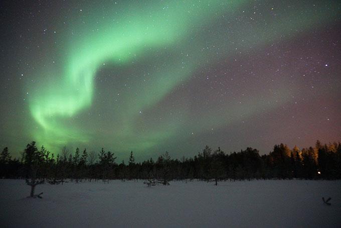 Magie hivernale en Laponie