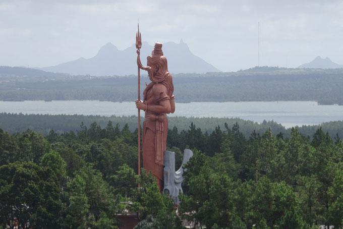 Shiva Statue beim Grand Bassin