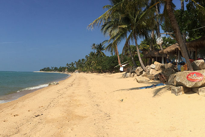 Silent Beach Maenam