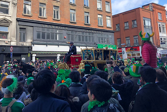 Irlande: fête de la Saint-Patrick