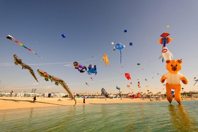 Festival de cerf-volant à Dubaï