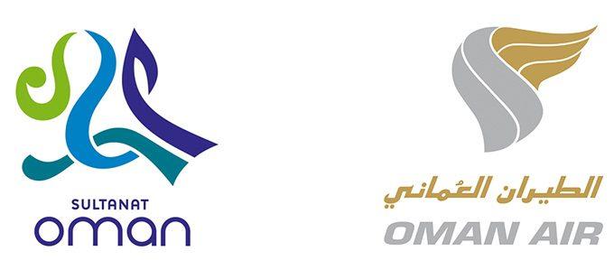Logo Oman Air und Oman Tourism