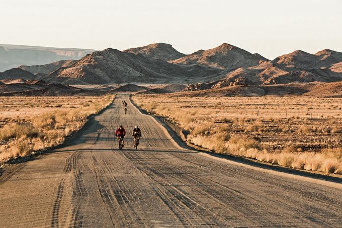 Namibia aus der Bike-Perspektive