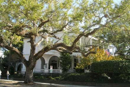 Maison typique à Charlestone