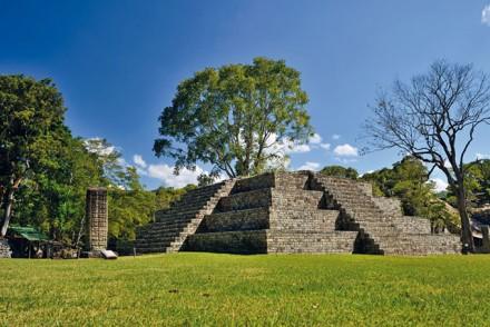 Maya Ruinen in Copán