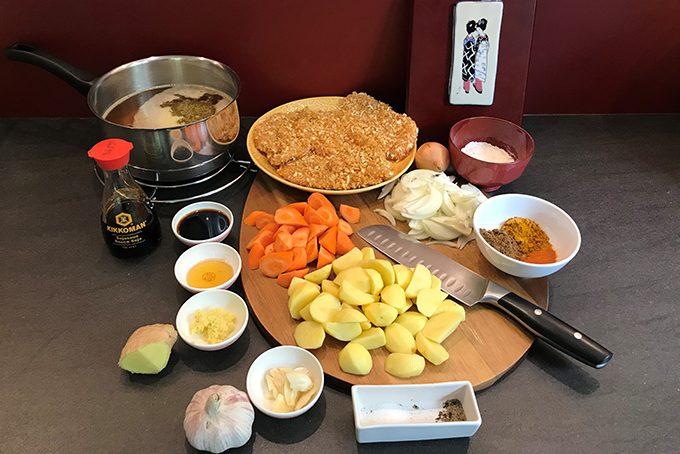 Chicken Katsu Curry – Japanisches Curry mit Pouletschnitzel