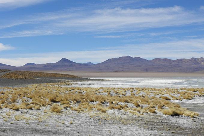 Landschaft der Provinz Sud Lípez