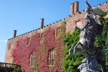Das wunderschöne Powis Castle