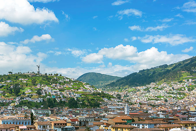 Ursprüngliches Ecuador