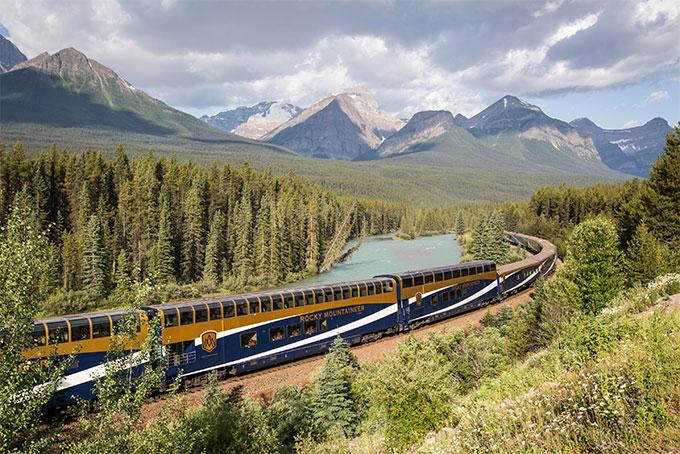 Bahnfahrt mit dem legendären «Rocky Mountaineer»