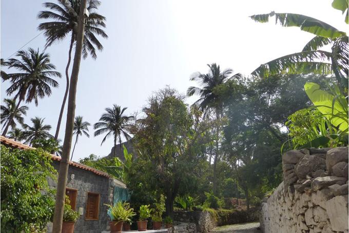 Rua Banana, die älteste Strasse der Kapverden