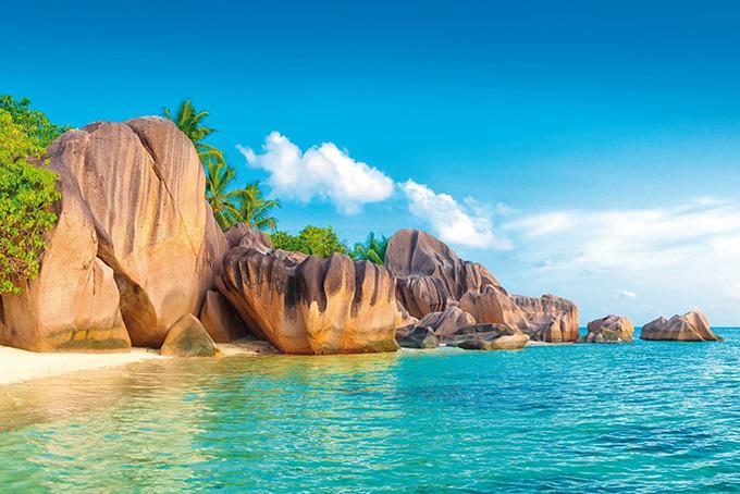 Seychellen: Source d'Argent
