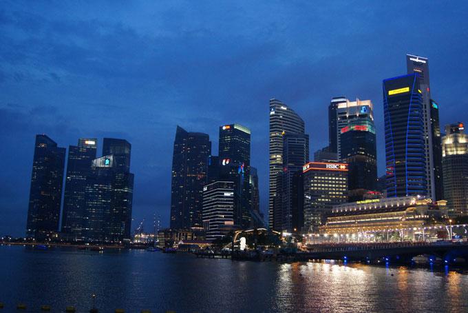 Zur Formel 1 nach Singapur