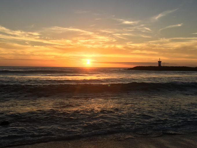 Sonnenuntergang auf ...