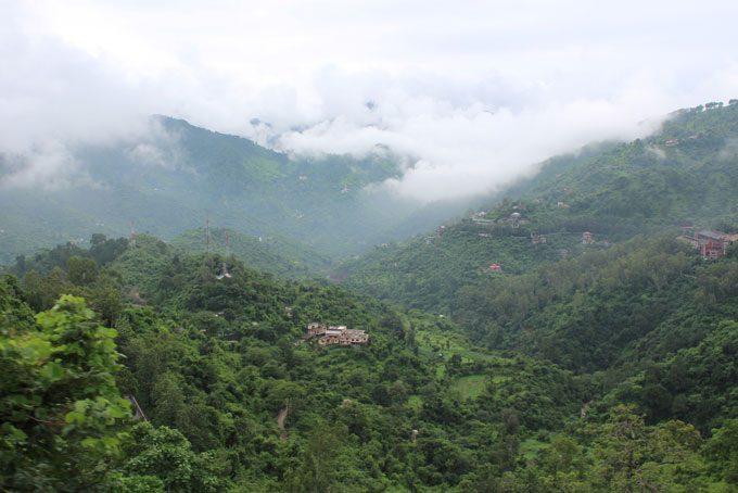 Tal kurz vor Shimla