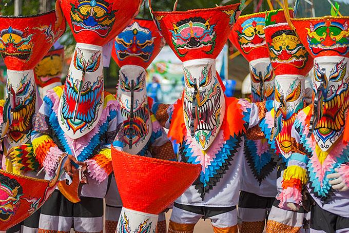 Thailand: Geisterfestival im Nordosten