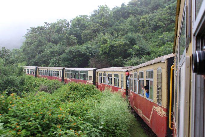 Toy Train von Kalka nach Shimla