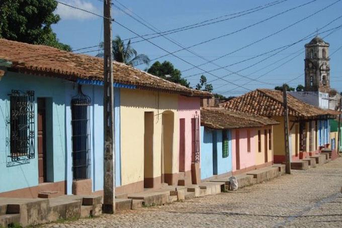 Gasse von Trinidad