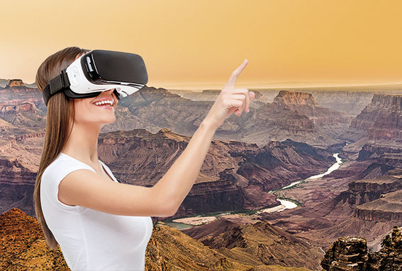 Reiseinspirationen mit der Virtual Reality Brille