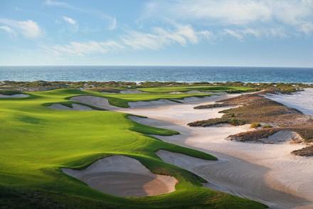 Vereinigte Arabische Emirate Abu Dhabi Saadiyat-Beach-Golf-Club