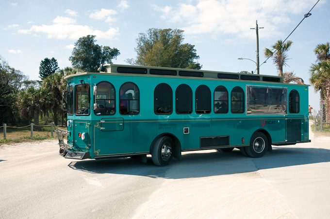 Trolley ©Bradenton Area CVB