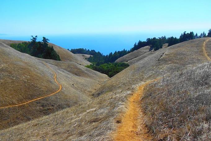 Wanderwege in Marin County