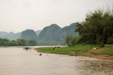 Yangshou Li Flussfahrt