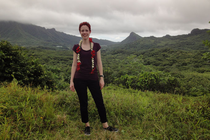 Berglandschaft auf Raiatea