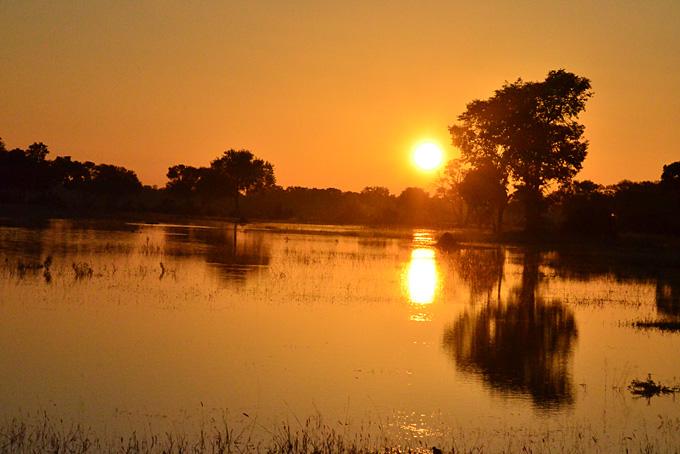 Botswana: eine Symphonie für die Augen