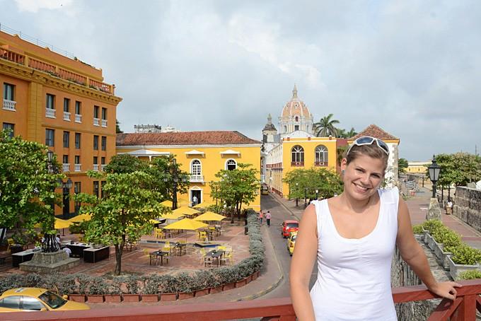 Franziska Saxer in Cartagena