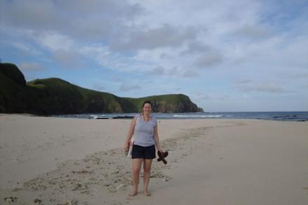 Caroline Blatter auf Fiji