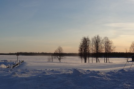 Winterzauber Finnisch-Lappland