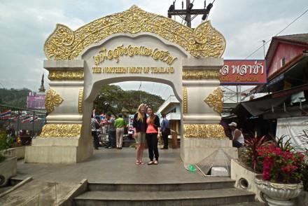 Grenzübergang zu Burma